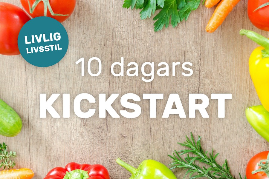 10 dagars kickstart - online hälsokurs web