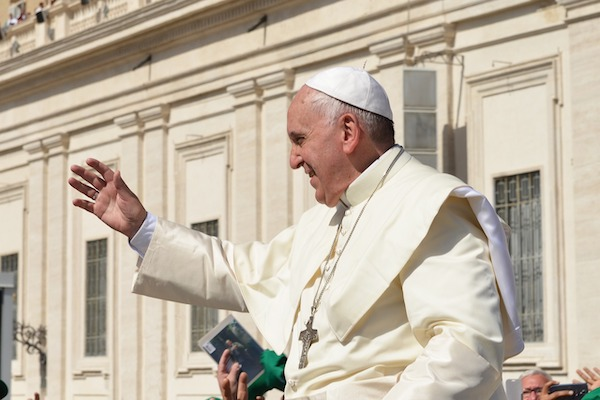 Pope Francis partners with big businesses