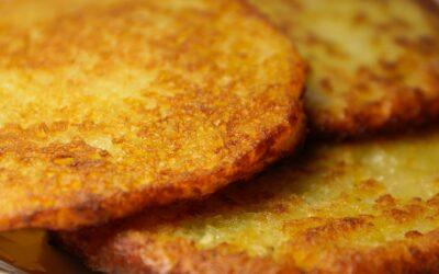 Joel's Raggmunkar (Potato Pancakes)