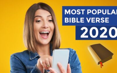 What was the Most Popular Bible Verse in 2020?
