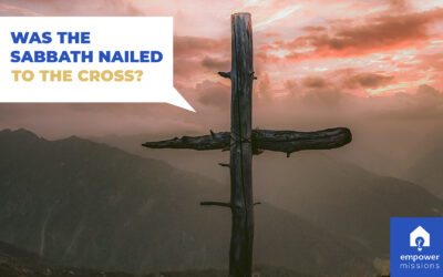 Was the Sabbath Nailed to the Cross?